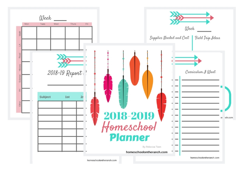 I Ve Got A New Free Printable Homeschool Planner For A Limited Time