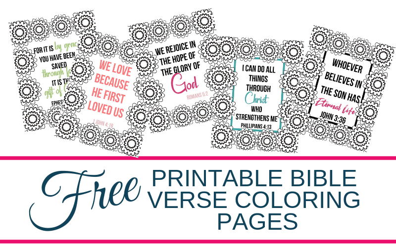 Free Printable Bible Verse Coloring Pages - Smart Mom at Home