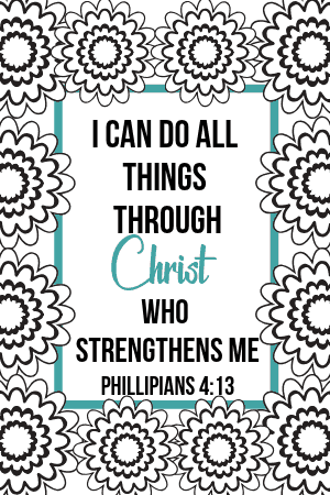 Free Printable Bible Verse Coloring Pages - | 450x300